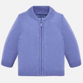 Mayoral 305-90 Sweter chłopięcy kolor lawendowy