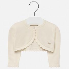 Mayoral 306-30 Sweter dziewczęcy kolor krem