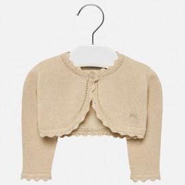 Mayoral 306-31 Sweter dziewczęcy kolor piaskowy