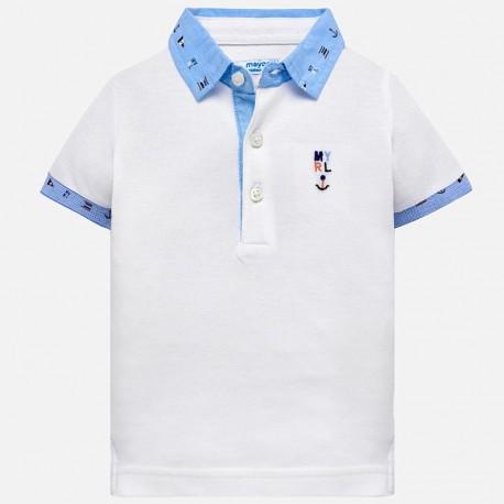 Mayoral 1114-51 Polo chłopięce kolor biały