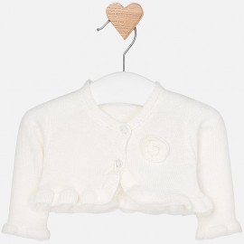 Mayoral 1302-45 Sweter dziewczęcy kolor krem