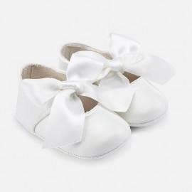 Mayoral 9091-34 Buciki dziewczęce kolor biały
