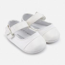 Mayoral 9119-70 Buciki dziewczęce kolor biały