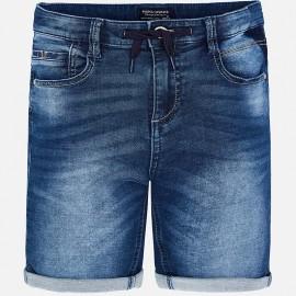 Mayoral 6229-42 Bermudy chłopięce jeans granat