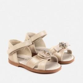 Mayoral 41024-74 Sandały dziewczęce złote