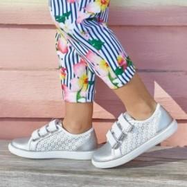 Mayoral 43011-45 Buty dziewczęce sportowe białe