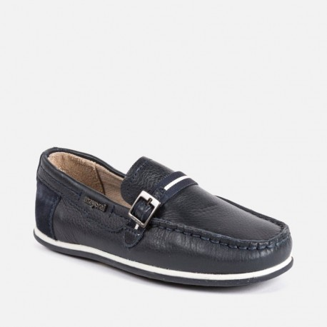 Brand new Mayoral boys suede shoes Moccasin