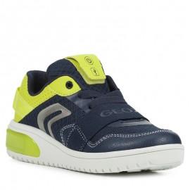 Sneakersy Geox chłopięce granatowe J927QB-01454-C0749