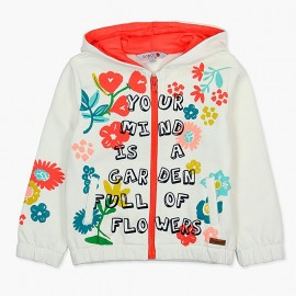 Boboli Bluza dla dziewczynki kremowa 407146-1111