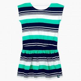 Boboli sukienka w paski dla dziewczynki 417158-9055