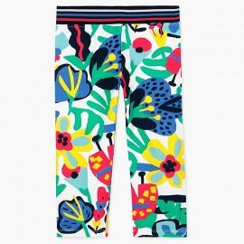 Boboli legginsy 3/4 dla dziewczynki kolorowe 467052-9088