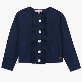 Boboli Bluza dla dziewczynki granatowa 477143-2440