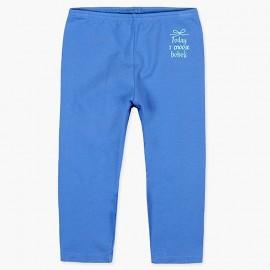 Boboli legginsy 3/4 dla dziewczynki niebieskie 497077-2443