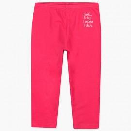 Boboli legginsy 3/4 dla dziewczynki malinowe 497077-3636