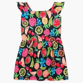 Boboli sukieneczka dla dziewczynki kolorowa 447005-9080