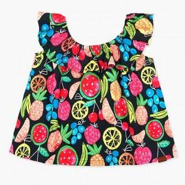 Boboli koszulka dla dziewczynki kolorowa 447016-9080