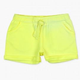 Boboli szorty dla dziewczynki żółte 447027-1123