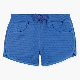 Boboli Spodenki bawełniane dla dziewczynki niebieskie 467030-2443