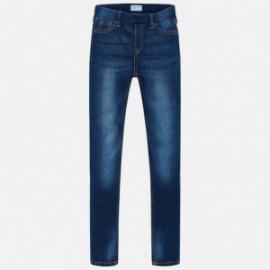 Mayoral 554-66 Spodnie dziewczęce kolor jeans