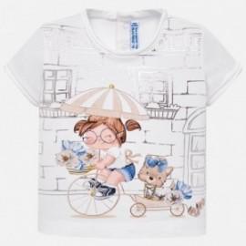 Mayoral 1010-33 Koszulka dziewczęca kolor szampan