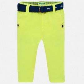 Mayoral 1523-42 Spodnie chłopięce kolor ananas
