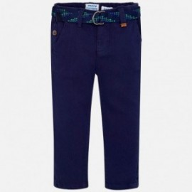 Mayoral 3516-61 Spodnie chłopięce klasyczne granatowe