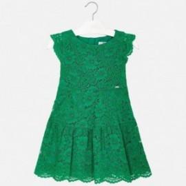 Mayoral 3934-76 Sukienka dziewczęca zielona