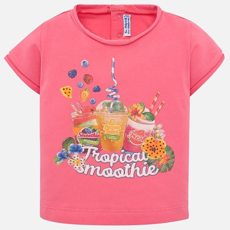 Mayoral 1010-32 Koszulka dziewczęca kolor róż
