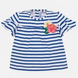 Mayoral 1011-28 Koszulka dziewczęca kolor niebieski