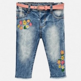 Mayoral 1516-62 Spodnie dziewczęce kolor jeans
