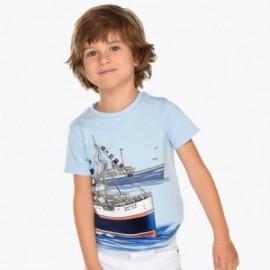 Mayoral 3024-73 Koszulka chłopięca kolor błękit
