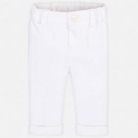 Mayoral 1511-30 Spodnie chłopięce kolor biały