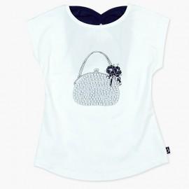 Boboli Bluzka dla dziewczynki biała 727354-1100