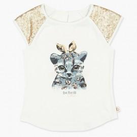 Boboli bluzka dla dziewczynki biały 727488-1111
