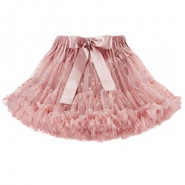 LaVashka spódnica dziewczęca tiulowa pudrowy róż LAV10G