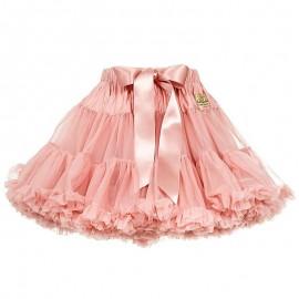 LaVashka spódnica dziewczęca tiulowa pudrowy róż LAV10