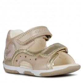 Geox sandały dla dziewczynki beżowe B920YC-044AJ-C0303