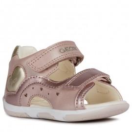 Geox sandały dla dziewczynki różowe B920YC-044AJ-C8252