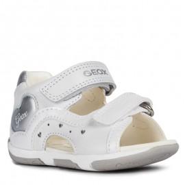 Geox sandały dla dziewczynki białe B920YC-044HI-C0007