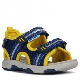 Geox sandały dla chłopaka granatowe B920FA-01415-C0657