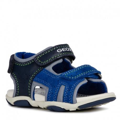 Geox sandały dla chłopaka granatowe B921AB-08522-C4226