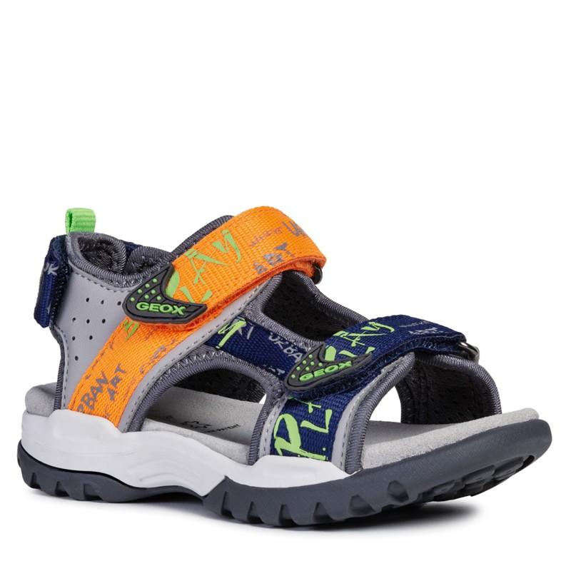 Geox sandały dla chłopaka szare J920RA-05415-C1040