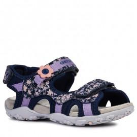 Geox sandały dziewczęce granatowe J92D9C-015CE-C4002