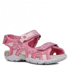 Geox sandały dziewczęce różowe J92D9C-015CE-C8002