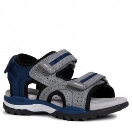 Geox sandały chłopięce szare J920RD-000CE-C0244
