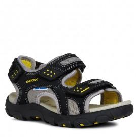 Geox sandały dla chłopaka granatowe J9224B-014CE-C0054