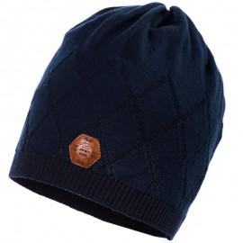 Jamiks czapka przejściowa chłopięca granat LARRY JWB075-2