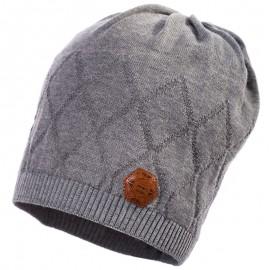 Jamiks czapka przejściowa chłopięca popiel LARRY JWB075-3
