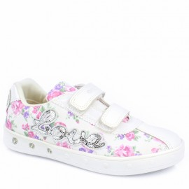 Geox Sneakersy dziewczęce białe J928WC-0ANAJ-C0406
