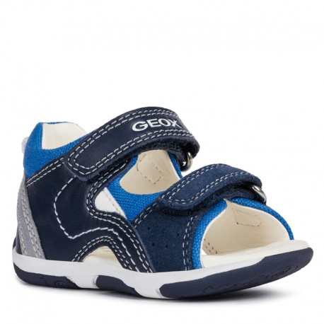 Geox sandały dla chłopaka białe B920XB-08522-C0899